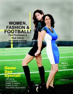 Finebaum And Saban Magazine Cover