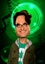 Dr. Leonard Hofstadter from The Big Bang Theory