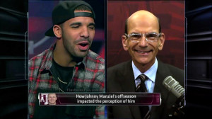 Drake and Paul Finebaum