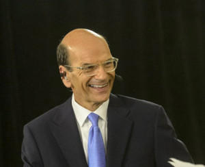 ESPN's Paul Finebaum at SEC Media Days in July. (Vasha Hunt/File)