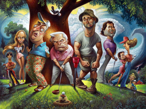 "David O'keefe's ""Bushwood - A Tribute to Caddyshack"""