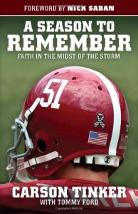 The Cover of Carson Tinker's Book.