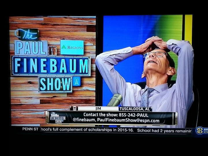 Jim Disgusts Finebaum