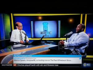 Paul Finebaum and Marcus Spears