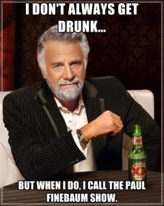 Drunk Finebaum Caller