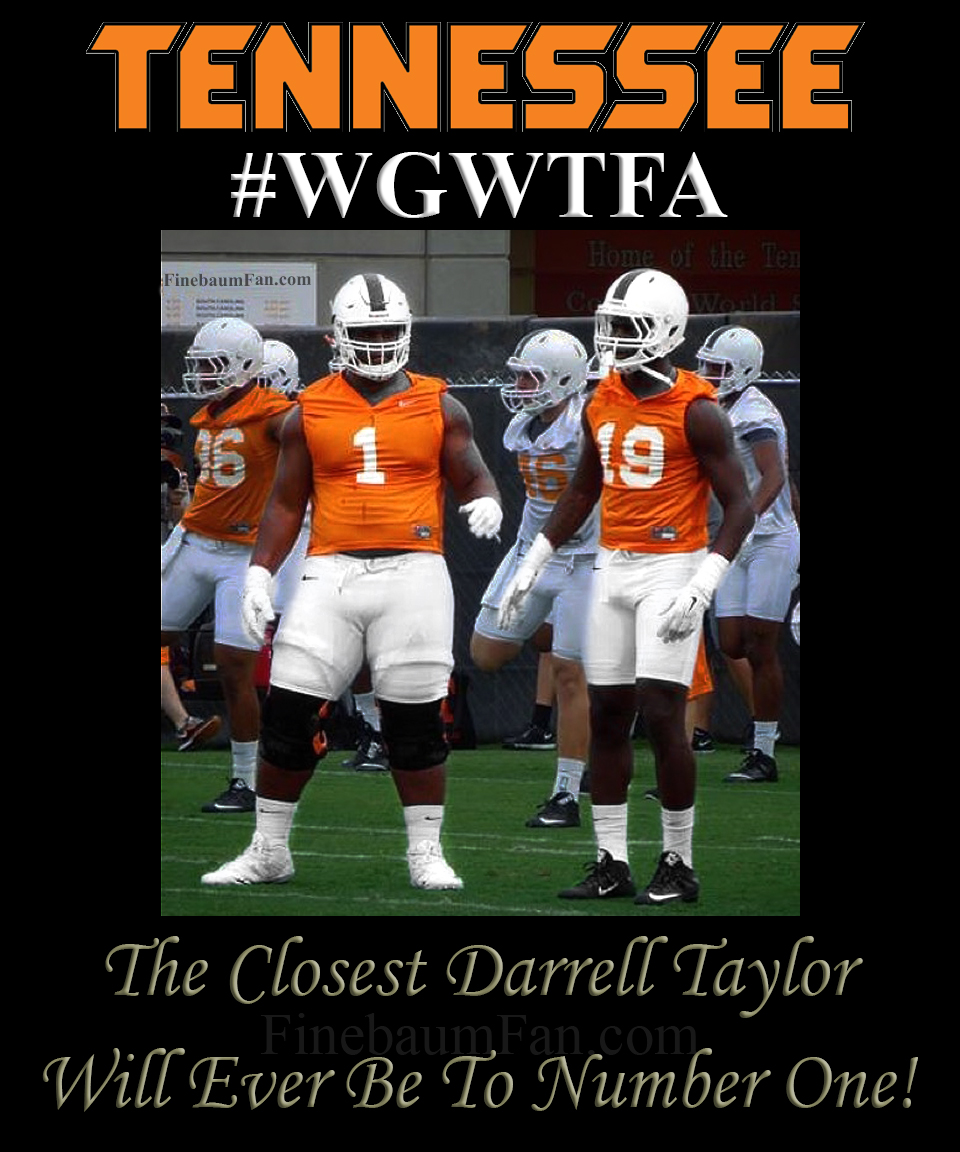"""The Closest Darrell Taylor Will Ever Be To Number One"""