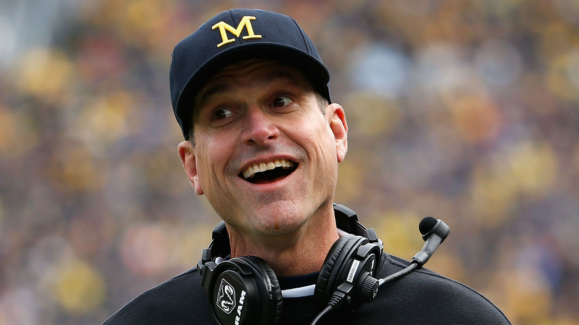 Michigan Coach Jim Harbaugh: A Hot Topic On The Paul